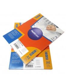 Самоклеящиеся этикетки Multilabel 70*42,3 мм, А4, 100 лист/пачка (Цены с НДС)
